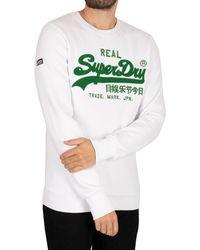 Superdry Vintage Logo Chenille Sweatshirt - Multicolour