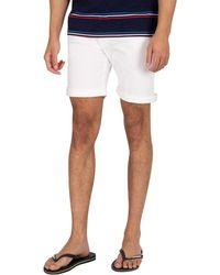 Pepe Jeans Cane Denim Slim Shorts - White