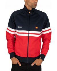 9c12c4b8 Ellesse Sterling Blue Rimini Track Top Jacket for Men - Lyst