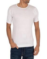 John Smedley Belden T-shirt - White