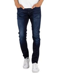 G-Star RAW Revend Skinny Superstretch Jeans - Blue