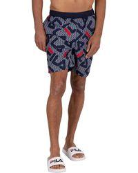 Fila Mally Inseam Swim Shorts - Blue
