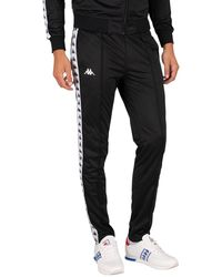 Kappa 222 Banda Astoria Slim Sweatpants - Black
