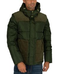 Scotch & Soda Quilted Jacket - Green