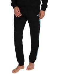 Emporio Armani Lounge Sweatpants - Black