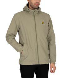 Lyle & Scott Zip Through Hooded Jacket - Multicolour