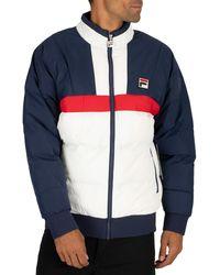 Fila Fausto Ski Jacket - Blue