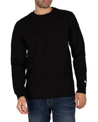Carhartt WIP Longsleeved Base T-shirt - Black