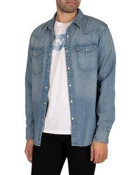 Levi's Barstow Western Standard Shirt - Blue