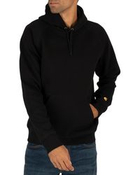 Carhartt WIP Chase Pullover Hoodie - Black