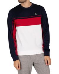 Lacoste Sport Logo Sweatshirt - Multicolour