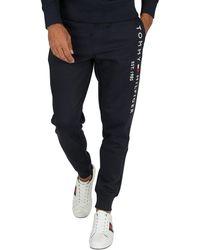 Tommy Hilfiger Basic Branded Sweatpants - Blue