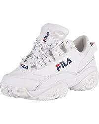 Fila Provenance Leather Sneakers - White