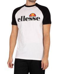 Ellesse Corp T-shirt - White