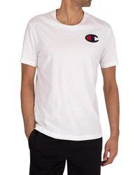 Champion Chest Logo T-shirt - White