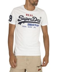 Superdry Vintage Logo Tri T-shirt - White