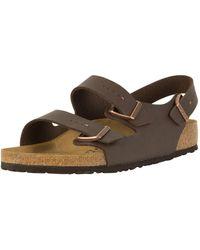 Birkenstock Milano Birko-flor Sandals - Brown