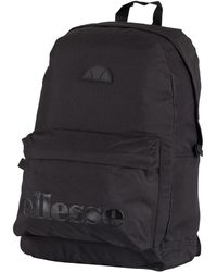 Ellesse Black Mono Regent Backpack