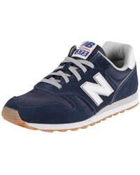 New Balance 373 Suede Sneakers - Blue