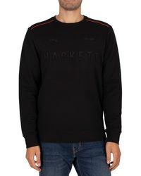 Hackett Amr Sweatshirt - Black