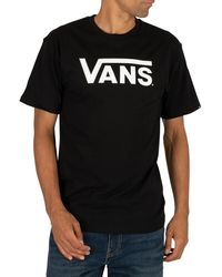 Vans Classic Logo T-shirt - Black