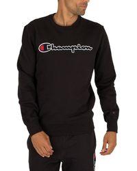 Champion Graphic Sweatshirt - Black