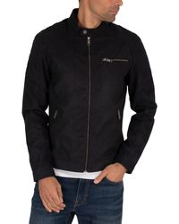 Jack & Jones Rocky Suede Jacket - Black