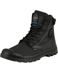 Palladium Pampa Sport Cuff Wpr Leather Boots - Black