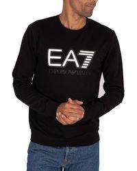 EA7 Graphic Sweatshirt - Black