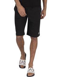 EA7 Sweat Short - Black
