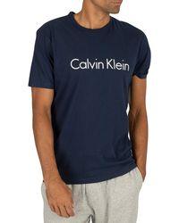 Calvin Klein Graphic T-shirt - Blue