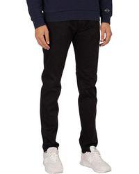 Replay Anbass Hyperflex X-lite Slim Jeans - Black