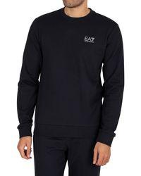 EA7 Logo Sweatshirt - Blue