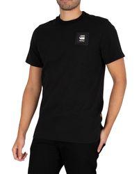 G-Star RAW Badge Logo T-shirt - Black