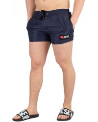 DIESEL - Navy Sandy Swimshorts - Lyst