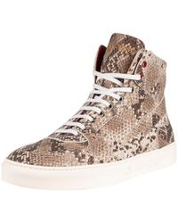 Jeffery West Leather Hi Sneakers - Multicolour