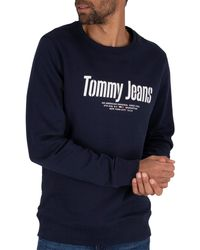 Tommy Hilfiger - Essential Graphic Sweatshirt - Lyst