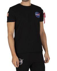Alpha Industries Nasa Heavy T-shirt - Black