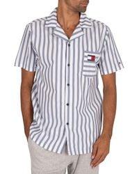 Tommy Hilfiger Shortsleeved Retro Pyjama Shirt - Multicolour