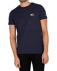 Tommy Hilfiger Chest Logo T-shirt - Blue