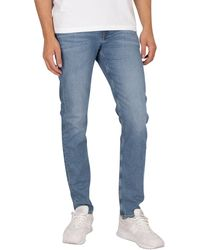 Calvin Klein Slim Taper Jeans - Blue