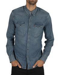Levi's Barstow Western Shirt - Blue
