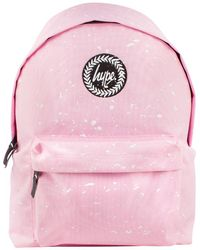 Hype Backpack Badge Baby Pink Bags
