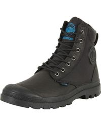 Palladium - Black Pampa Sport Cuff Wpn Boots - Lyst