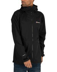 Berghaus Deluge Pro 2.0 Men's Insulated Waterproof Jacket - Black