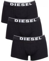DIESEL - Black 3 Pack Trunks - Lyst