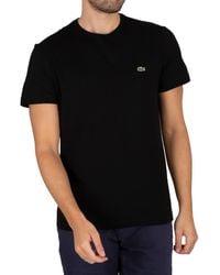 Lacoste Logo T-shirt - Black