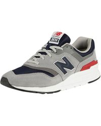 New Balance 997 Suede Sneakers - Grey