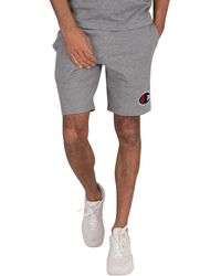Champion Logo Sweat Shorts - Grey