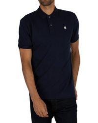 G-Star RAW Dunda Slim Polo Shirt - Blue